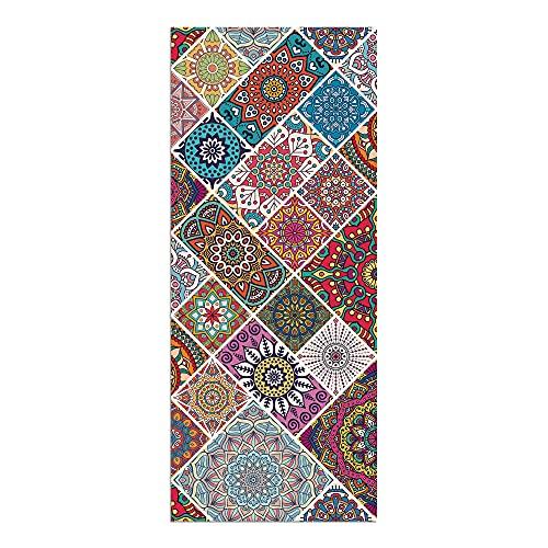Alfombra Vinílica, 50 x 120 cm, Mandala, Multicolor, ALV-081