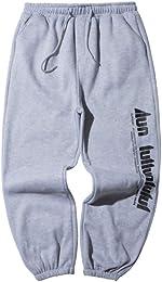 Unisexe Épaissir Pantalon Sport Trousers Jogging A