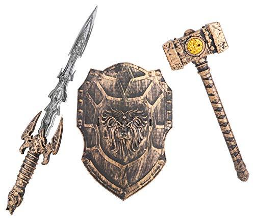 Toyland Sword, Hammer & Shield Set - Giochi di Ruolo