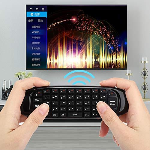 Socobeta USB Mini C120 Flying Mouse Tastatur Fernbedienung für/Mac OS / / Linux