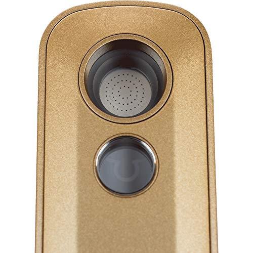 Firefly| 2+ Tragbarer Verfdampfer/Vaporizer - Für getrocknete Kräuter & Konzentrate - 2 Jahre Herstellergarantie - gold