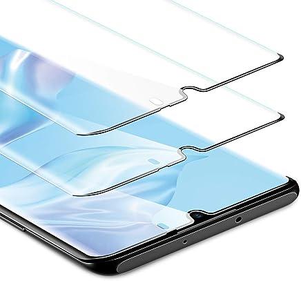 ESR Displayschutzfolie kompatibel mit Huawei P30 Pro Schutzfolie - Panzerglas Schutzfolie mit Full-Screen Abdeckung - HD Hartglas Folie für Huawei P30 Pro - 2 Pack