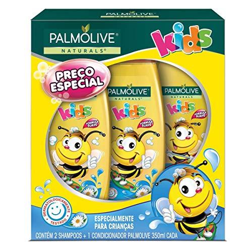 Shampoo e Condicionador Palmolive Naturals Kids Todo Tipo de Cabelo 350ml Promo...