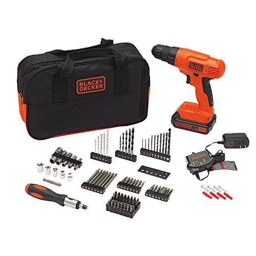 BLACK and DECKER BDC120VA100 Cordless Project Kit with 100 Accessories