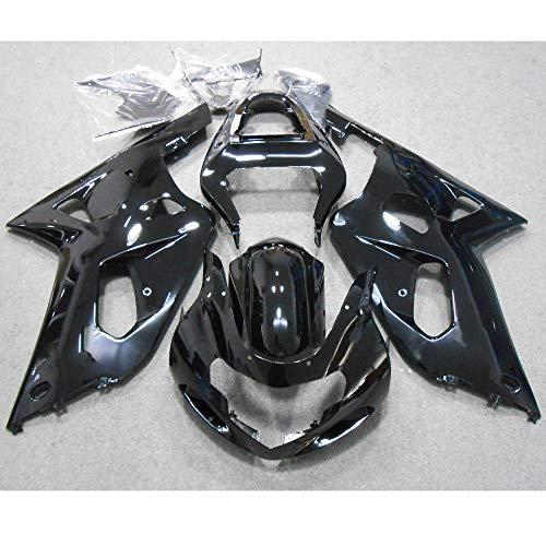 ZXMOTO Black Painted Fairing Kit for Suzuki GSXR 600 750 K1 (2001 2002 2003)