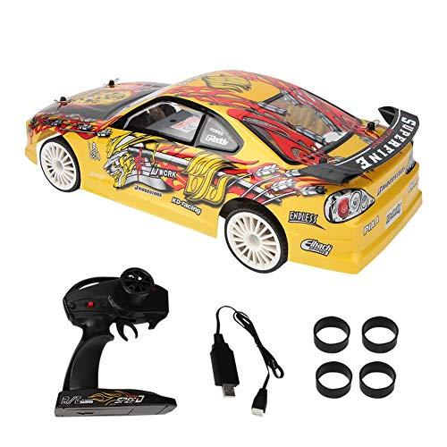 VGEBY1 Rennwagen Spielzeug, simuliert 2,4 GHz Fernbedienung elektrische RC Modellauto Racing Drift Auto Modell Geschenk Spielzeug