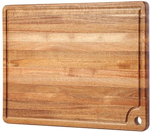 Large Acacia Wood Cutting Board