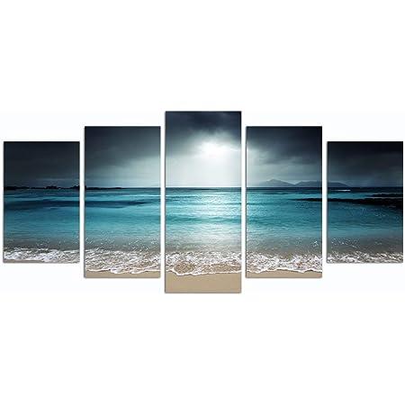 Seagull wall art for men room decor Seascape photography Large Nautical art Minimalist print Sea cliff poster