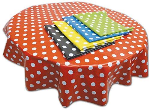 Springbord PVC Tafel- en vloerbedekking - Blauwe vlek (Circular) - 1,3 m dia - Geschikt voor kunst, ambacht en rommelig spelen