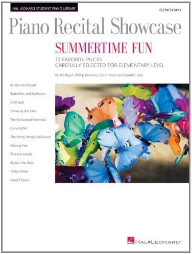 Piano Recital Showcase Summertime Fun 12 Favorite Pieces Carefully Selected for Elementary Level product image