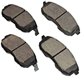 Bosch BE815H Blue Disc Brake Pad Set with Hardware for Select Infiniti G20, G35 and Nissan 350Z, Altima, Cube, Maxima, Sentra - FRONT