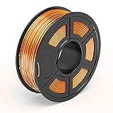 TECBEARS Shiny Silk Copper PLA 3D Printer Filament 1.75, Dimensional Accuracy +/- 0.02 mm, 1 Kg Spool, Pack of 1