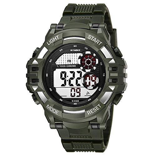 IF.HLMF Reloj electrónico para Estudiantes, multifunción, Reloj Despertador con cronógrafo, Reloj Deportivo, Moda