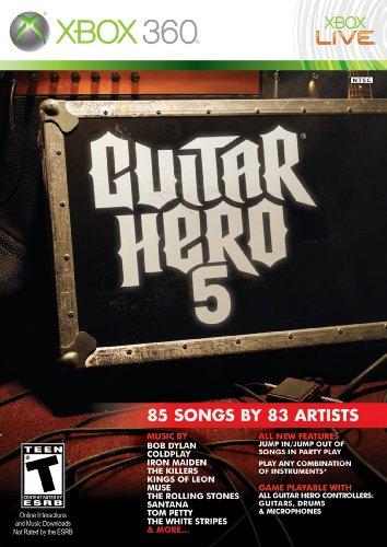 Activision Guitar Hero 5, Xbox 360 - Juego (Xbox 360, Xbox 360, Música, T (Teen), Xbox 360)