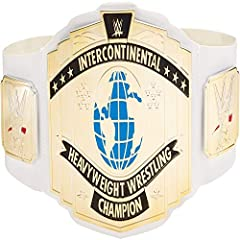 Now kids can take home the excitement of the WWE and its ultimate honor -- the Championship! The leather-like belt features authentic styling and sleek metallic medallions like the pros A one-time adjustable waistline fits kids ages 8 years or older ...
