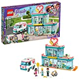 LEGO Friends Heartlake City Hospital 41394 Best Doctor Toy Building Kit, Featuring LEGO