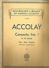 Concerto No. 1 in A Minor for the Violin (W/ Piano Accompaniment - Volume 905)
