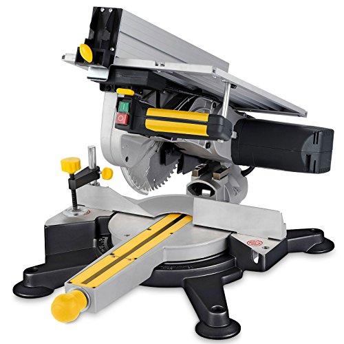 Powerplus POWX07582 verstekzaag met tafelblad, 1800 W, 240 V, 254 mm
