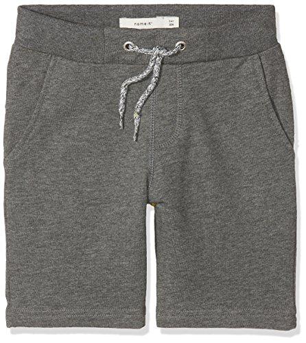 Name IT NOS Jungen Shorts Nkmhonk Unb SWE Long Noos, Grau (Dark Grey Melange), (Herstellergröße: 140)