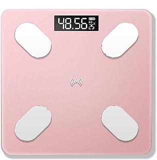 Básculas de baño Digitales, Báscula de baño, Báscula de Grasa Corporal con aplicación Bluetooth, Smart Scientific Scientific Weight Home, 180 kg,