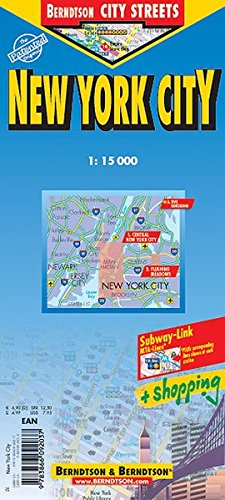 New York City: 1:15 000. Einzelkarten: Central New York City 1:15 000; Flushing Meadows 1:15 000; Five Boroughs 1:100 000; MTA New York City Subway; ... Zones (Berndtson City Streets)