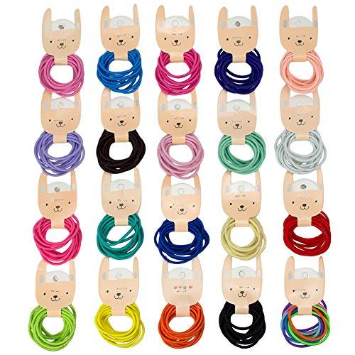 BIANHUAN ヘアゴム こども ベビー ヘアアクセサリー 200本 セット 子供 髪ゴム 髪飾り キッズ 赤ちゃん かみどめ かみかざり 髪飾り 誕生日 プレゼント B