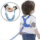 Baby Anti-verloren Gürtel, Babygeschirr und Zügel, Kindergeschirr Gurt Sicherheit einstellbar 2,5...