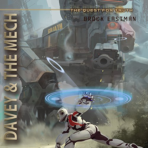 Davey & the Mech audiobook cover art