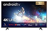 iFFALCON 55K610 LED Fernseher 55 Zoll (139cm) Smart TV (4K Ultra HD, MEMC, Dolby Vision, Android TV, inklusive Sprachfernbedienung, Prime Video, Google Assistant und Alexa)