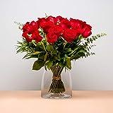 Ramo de 24 Rosas - Envío de Ramos de Flores Naturales a Domicilio 24h Gratis - Flores Fre...