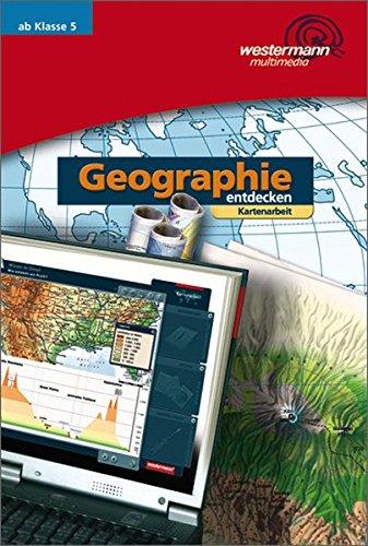 Diercke-Arbeitskarten Geographie / Ausgabe 2008: Diercke Weltatlas - aktuelle Ausgabe: Geographie entdecken: CD 2: Kartenarbeit Einzelplatzlizenz