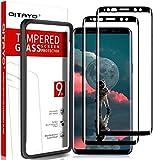 QITAYO [2 Stück] Panzerglas Schutzfolie für Samsung Galaxy S9 mit Positionierhilfe, Samsung Galaxy S9 Folie Glas Bildschirmschutzfolie Panzerglas