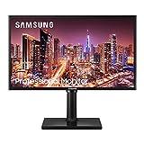 Samsung LF24T400FHRXEN - Monitor LED de 24', FullHD (1920 x 1080, Panel IPS), 250 CD/m2, 1000:1, 4 ms, HDMI, VGA, Color Negro