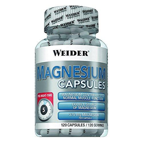 Weider BodyShaper Magnesium Capsules 120 Kapseln
