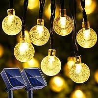 Lyhope 30 LED Solar Bubble Ball String Lights