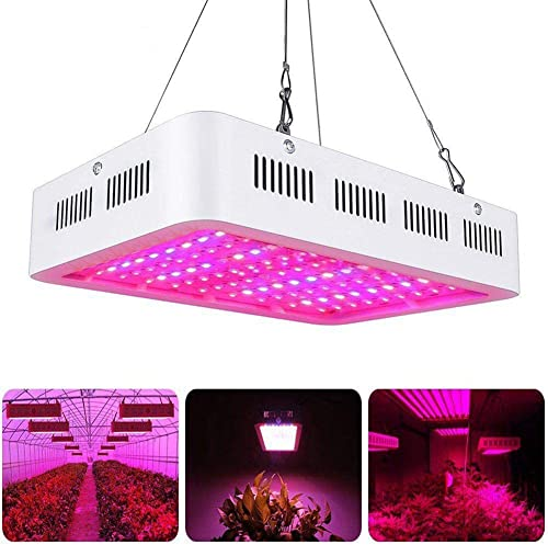 Luz de crecimiento de plantas, TRONMA 1000W Lámparas de Crecimiento, Luz de crecimiento de espectro completo, adecuada para plantas, verduras y flores de interior
