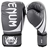 Venum Challenger 2.0 Boxing Gloves - Grey/Black - 10-Ounce