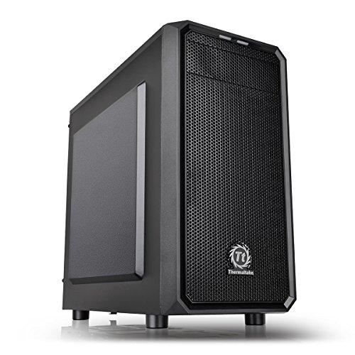 Thermaltake Versa H15 Case per PC Mini, Nero