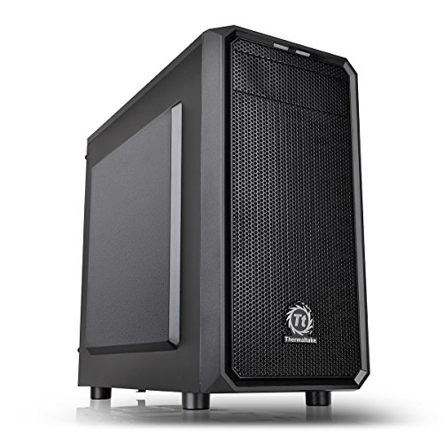 Thermaltake Versa H15 Case per PC Mini, Nero