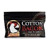 【正規品】Wick 'N' Vape製品 Cotton bacon Prime コットンベーコン バージョン2.0 100% オーガニックコットン/電子タバコ VAPE RBA RDA RTA RDTA DIY用/ふわ ふわ/リビルダブル用品/USA産 (1パック)