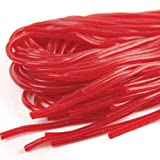 Strawberry Red Licorice Laces Five 5.5 Oz Packs