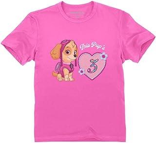 Official Paw Patrol Skye 3rd Birthday Toddler Kids T-Shirt