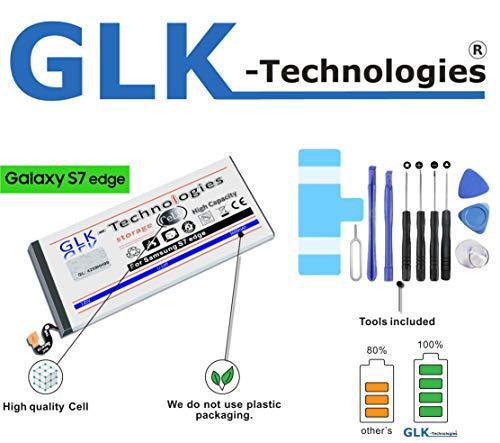 !GRATIS BLITZVERSAND! -30% NUR Kurze Zeit ! Samsung Galaxy S7 Edge Akku SM-G935F | Original GLK-Technologies Akku | Ersatzakku | 3600 mAh | ersetzt EB-BG935ABE inkl. Werkzeug Set Kit 2020 B.j