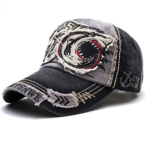 Baseball Kappe Basecap Unisex Mütze Einstellbare Retro Verstellbar Snapback Hut Freizeit Cap Modischste Cotton Cap Schreiben Outdoor Hut für Männer und Frauen