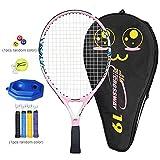 Morningtime Raqueta De Tenis para Niños,Practique La Raqueta Incluyendo Bolsa De Tenis 19/21/23/25 De Pulgada (Infantil para La Escuela Primaria Y Los Grados Inferiores) Los 8 Colores