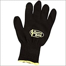 CACTUS ROPES Large Western Horse Tack Cotton Roping Glove Black