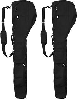 CUTICATE ゴルフバッグ ゴルフ クラブケース ゴルフクラブカバー ポケット付き 耐水 約5×32×127cm