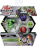 Bakugan Starter Pack 3-Pack, Dragonoid Ultra, Armored Alliance Collectible Action Figures