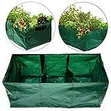28 Gallon Exlarge Plastic Raised Planting Bed...