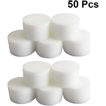 100pcs Cubes éponge pour Hydroponique Graines Start Grow Plant Net Pot Tasse Panier